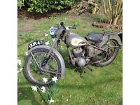 1955 BSA Bantam
