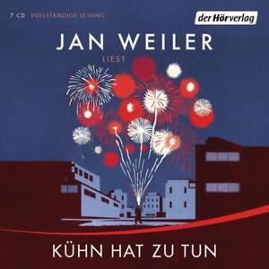 Kühn hat zu tun von Jan Weiler, Hörbuch.Krimi, 7 CD, wie neu