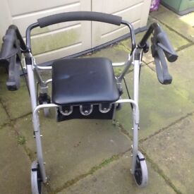 Mobility stroller walking aid