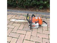 Stihl 036 QS Chainsaw - need new chain and brake kit.