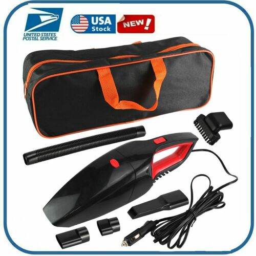 120W Car Vacuum Cleaner 12V Auto Mini Portable Wet Dry Handh