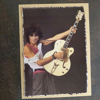 POP-KARD feat. RONNIE WOOD - GRETSCH , 11x15 greeting card aae