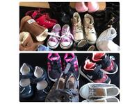 Girls infants shoe bundle size 3&4s