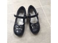 Girls school shoes size 12