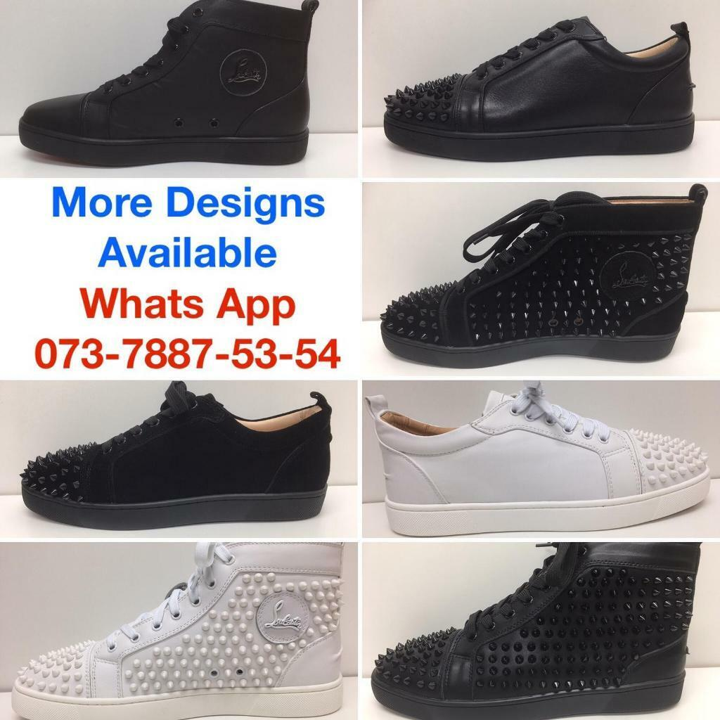 32cdb538a866 Christian Louboutin Shoes Valentino Trainers Balenciaga Runners Alexander  McQueens Gucci Sneakers UK