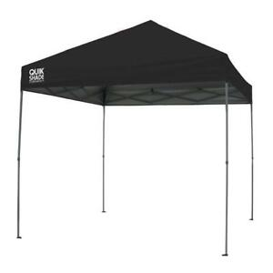 NEW Quik Shade Expedition EX100 10'x 10' Instant Canopy, Black
