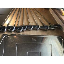 Rare Top Flight oversize irons 3-SW includes M wedge