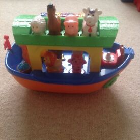 Musical animal ship