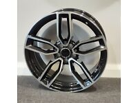 """18"""" Audi S3 Style alloy wheels and tyres (5x100) Suits VW Polo, Audi A1, Seat Ibiza etc"""