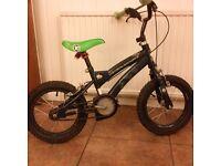Kids bike for sale. 4 to 6 yr old. Ben 10 design.