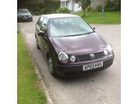 Volkswagen Polo 1.4 5 Door Hatchback NEW M.O.T £1695