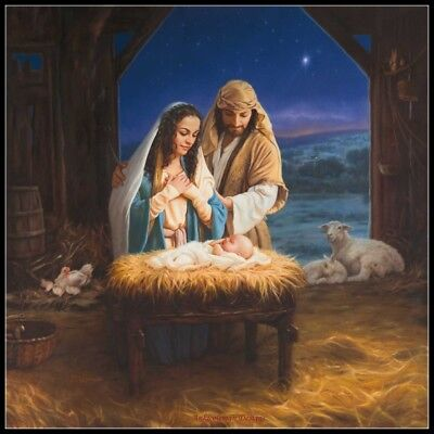 Holy Family - Chart Counted Cross Stitch Patterns Needlework for embroidery