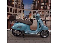 Vespa Settantesimo GTS 300 70th Anniversary BLUE PRE REG £4579 inc screen