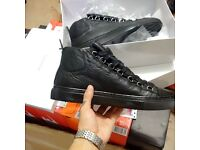 BALENCIAGA ARENAS HIGH TOPS. FULL NAVY, FULL WHITE OR FULL BLACK