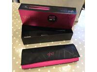 Pink GHD Hair Straightener Heatproof Bag & Box (Straightener not included)