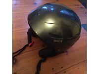 2 HEAD Ski Helmets (M 55-56cm) - dark grey