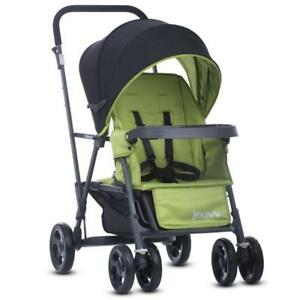 NEW Joovy 8148 Caboose Graphite Appletree Stroller, Green