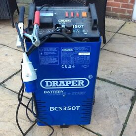 Draper Battery and car charger.