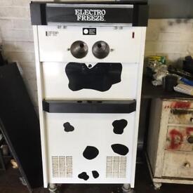 Electro freeze triple mr softy ice cream machine
