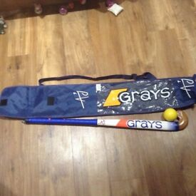 Grays 34.5 hockey stick and bag