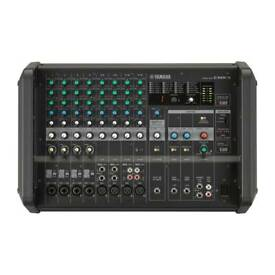 Yamaha emx5 powered quality pro mixer with titan 12 passive speakers
