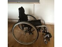 Quickie Wheelchair for sale. V good condition.