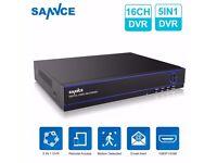 SANNCE 16CH 1080P HDMI 5IN1 CCTV DVR Recorder
