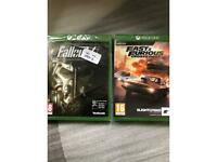 Xbox one games brand new sealed