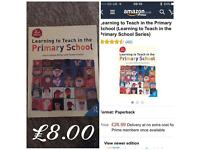 Learning to teach in primary school Text book