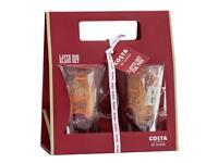 Costa Latte Glasses - Brand New in Box