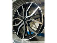 "19"" alloy wheels alloys rims tyres for Vw Volkswagen seat Skoda Audi 112"