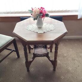 Vintage Table with underside stand