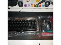 ROG Mechanical Keyboard & Gaming Mouse