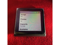 Ipod Nano 6TH Generation, As New Condition, 8Gb memory, Not a single scratch!
