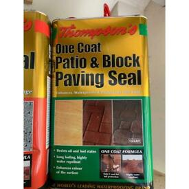 Patio & Block Paving sealer & Brick sealer