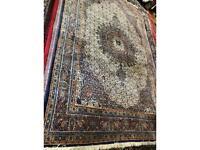 Genuine persian moud handmade rug ,