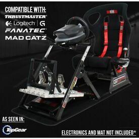 GTULTIMATE V2 Racing Simulator Cockpit Gaming Chair Logitech G27