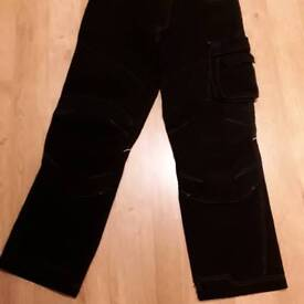 Man's dickies trousers black size 32 S