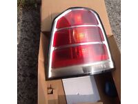 vauxhall zafriab mk 2 2005-2007 rear tail light lamp passenger side ns left