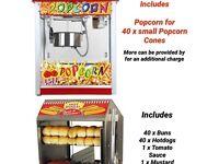 Hot dog and popcorn machine ( read desceiption!!!