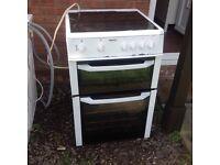 Beko double cavity electric oven