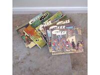 Giles Strip Comic Books