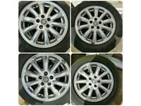 Alloys wheels jaguar 16