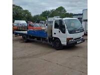 Isuzu NQR 4.7 diesel 6 tyres 7.5 Ton truck. MOT till August.
