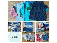 Selection of different sized boys clothes please see pictures
