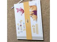 New born baby diary's, photo album and journals etc (gift type thing)