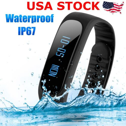 Bluetooth Waterproof Smart Wrist Watch Pedometer For Ios ...