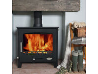 Multifuel stove Woodburner Wooly mammoth 7 kw Brand new