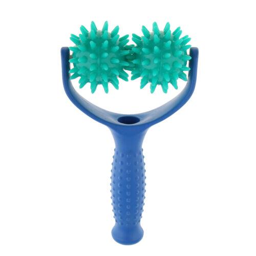 Massagestäbchen Triggerpunkt Massagebälle mit Noppen Massage-Roller & Griff