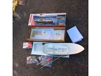Fantastic Robbe Dolly Harbour Launch 1:20 Model Boat Kit (R1197) RC Radio control ready *L@@k*